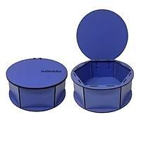 Yuvarlak Kutu Model 1 - Mavi