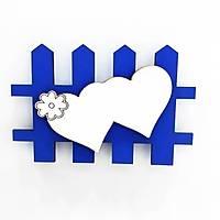 Ahþap Magnet Çit 10'lu Paket - Mavi