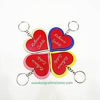 Kalbimin Sahibi - Kalpli Anahtarlýk 5'li Paket
