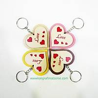 Love Kalpli Anahtarlýk 5 li Paket