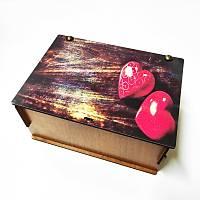 Hediye Kutusu - Çift Kalp 2