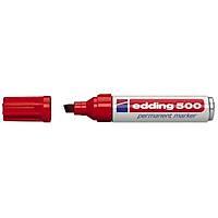 Edding 500 Permanent Marker - Kýrmýzý