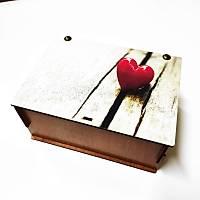 Hediye Kutusu - Tek Kalp