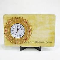 Masaüstü Saat Yatay Baskýlý Model 8