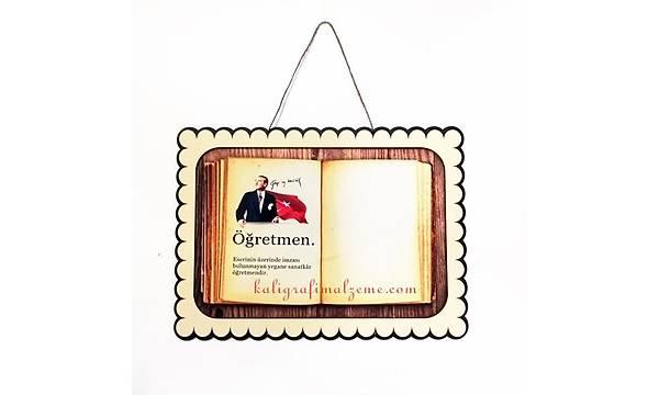 Ahþap Çerçeve AÇ01-100 - Öðretmen Atatürk