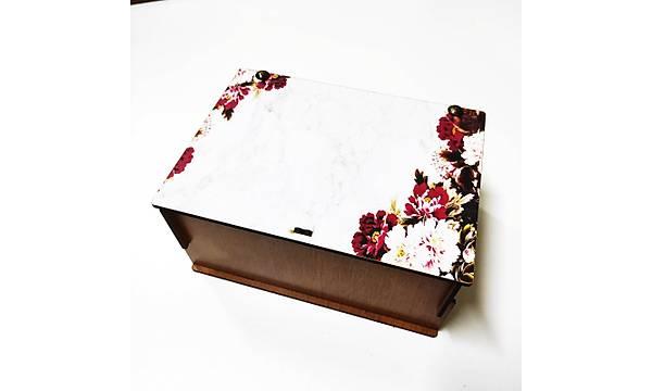 Hediye Kutusu - Çiçekli