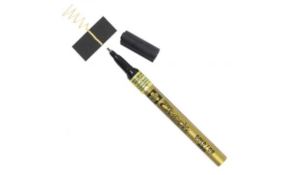 Sakura Pen Touch Altýn Yaldýz Kaligrafi Kalemi 1.8 mm
