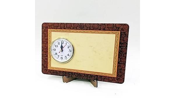 Masaüstü Saat Yatay Baskýlý Model 9