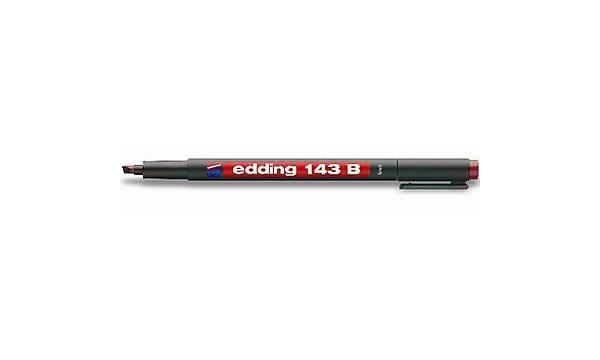 Edding 143B - Kýrmýzý