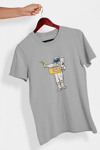 tiz12 Otostopçu Astronot (Üniseks Tiþört)