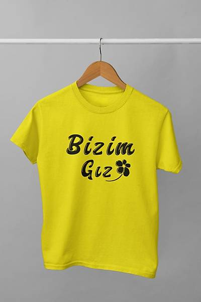 Bizim Gýz (Üniseks Çocuk Tiþörtü)