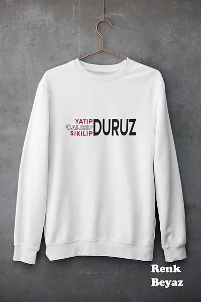 Yatýp Çalýþýp Sýkýlýp Duruz (Üniseks Kapüþosuz)