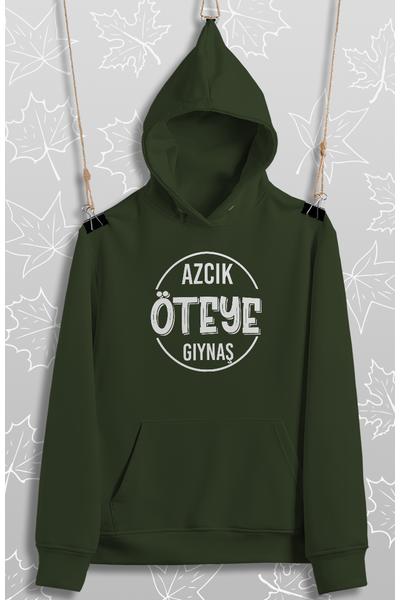 Azcýk Öteye Gýynaþ(Üniseks Kapüþonlu)