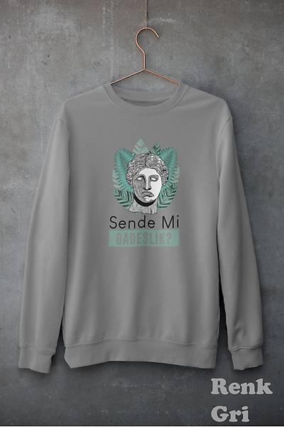 Sende  Mi Gadeslk(Üniseks Kapüþonsuz)