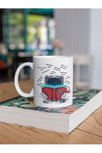 Ege Sözlük katas (Porselen Kupa)