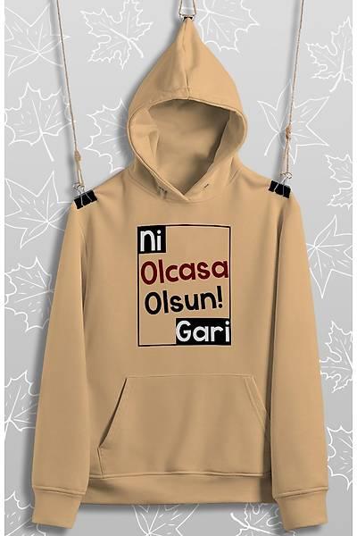 Ni Olcasa Olsun Gari 2 !!(Üniseks Kapüþonlu)