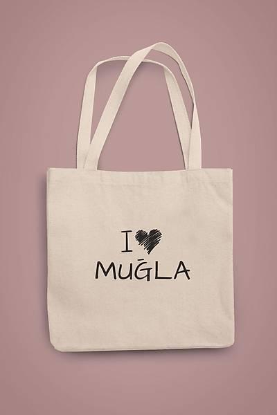 I Love Muðla (Gabardin Bez Çanta)