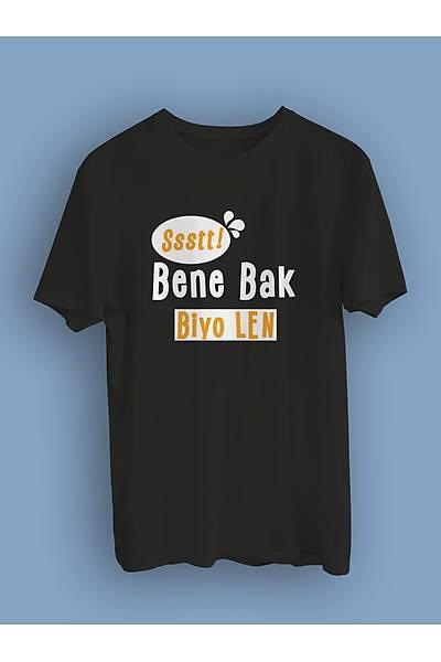 Bene Bak Biyo Len!(Üniseks Tiþört)