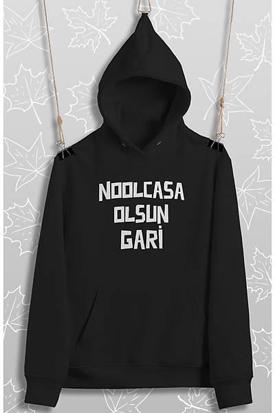 Noolcasa Olsun Gari (Üniseks Kapüþonlu)