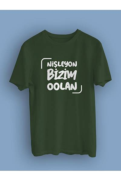 Niþleyon Bizim Oolan (Üniseks Tiþört)