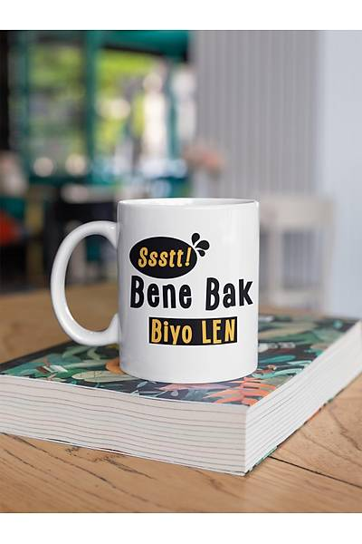 Ssst Bene Bak Biyo Len  (Porselen Kupa)