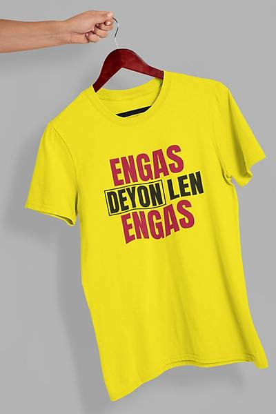Engas Deyon Engas(Üniseks Tiþört)