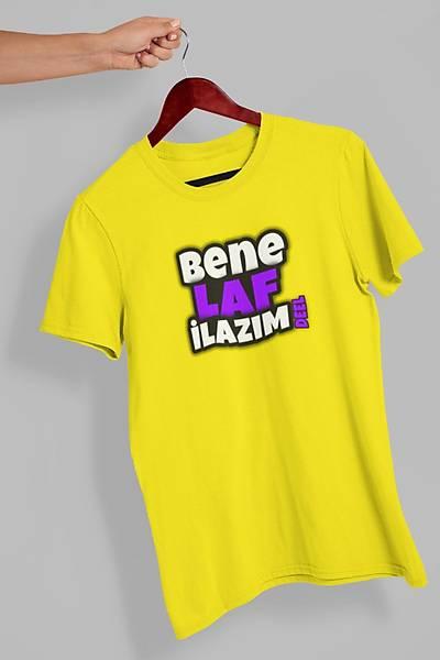 Bene laf iLazým Deel(Üniseks Tiþört)