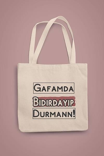 Gafamda Býdýrdayýp Durman xw3 (Gabardin Bez Çanta)