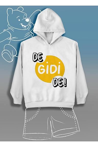 De Gidi De(Üniseks Çocuk Kapüþonlu)