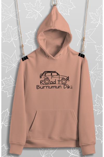 Road To Burnumun Diki(Üniseks Kapüþonlu)
