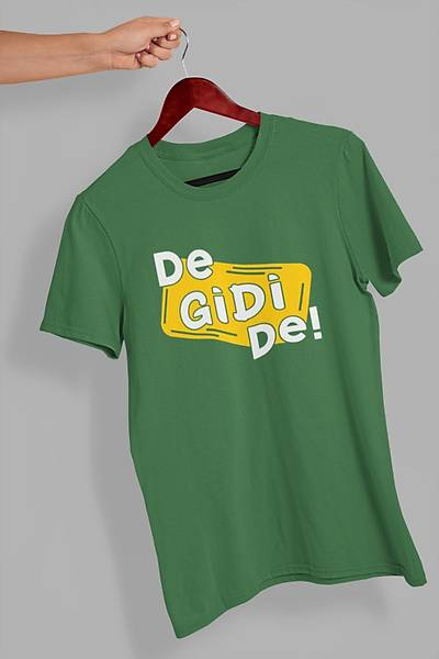 De Gidi De 2 (Üniseks Tiþört)