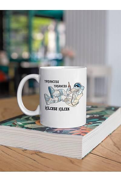 Ýçilcese Ýçilçek Yaþancese Yaþancek  (Porselen Kupa)