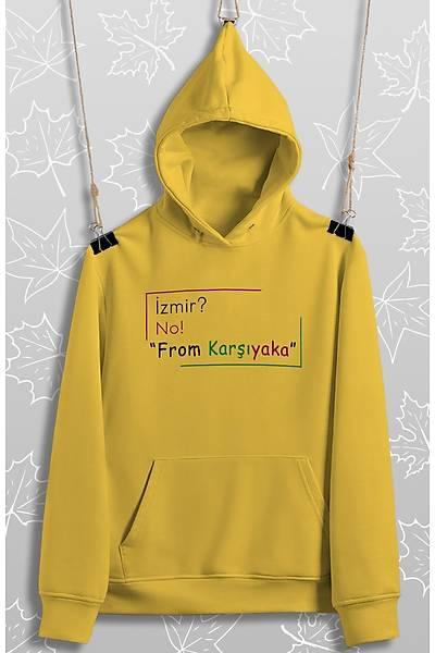 From Karþýyaka(Üniseks Kapüþonlu)