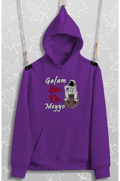 Gafam Gotumeyo(Üniseks Kapüþonlu)