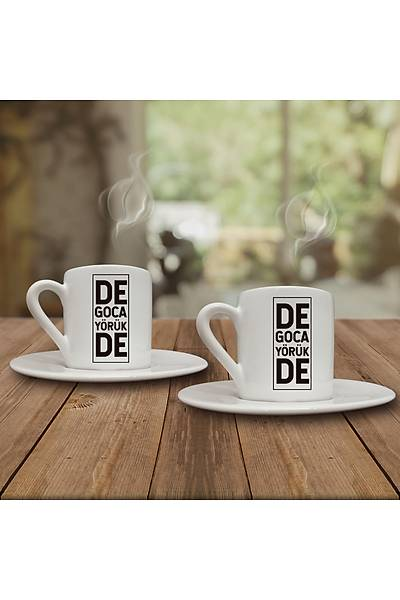 De Goca Yörük De (2li Kahve Fincaný Set)