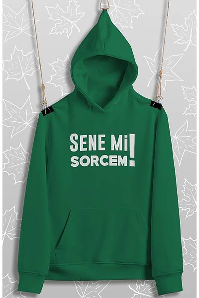 Senemi Sorcem(Üniseks Kapüþonlu)