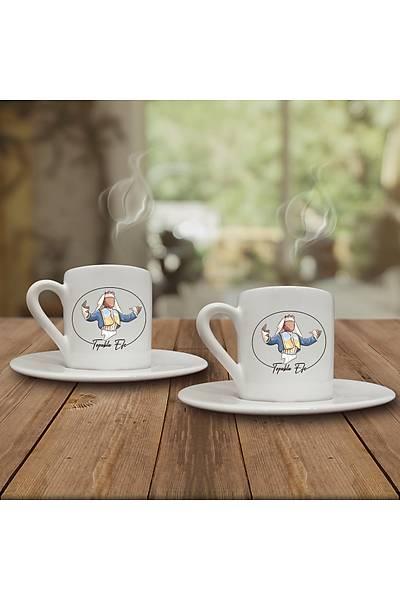 Topuklu Efe  (2li Kahve Fincaný Set)