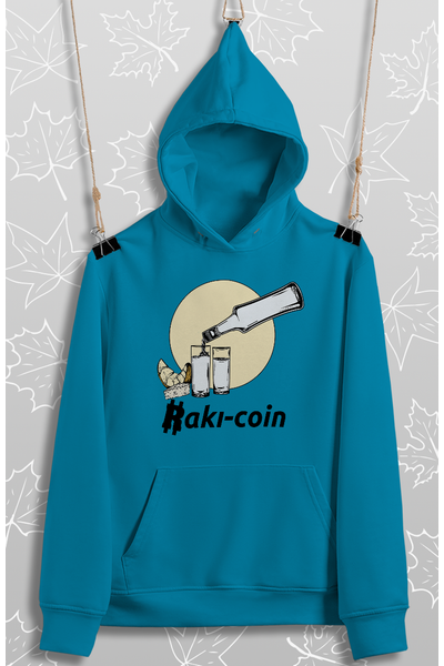 Raký Coin  (Üniseks Kapüþonlu)