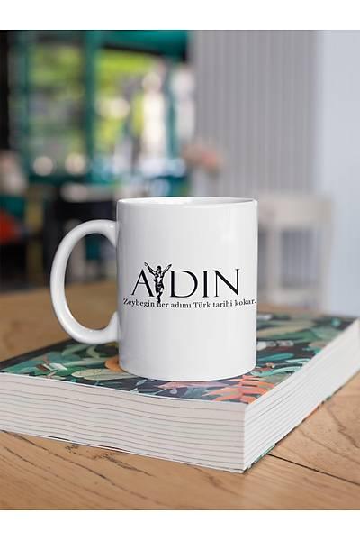 Aydýn Zeybeðin Her Adýmý Tarih Kokar(Porselen Kupa)