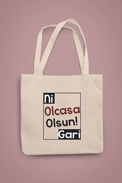 Ni Olcasa Olsun Gari  (Gabardin Bez Çanta)