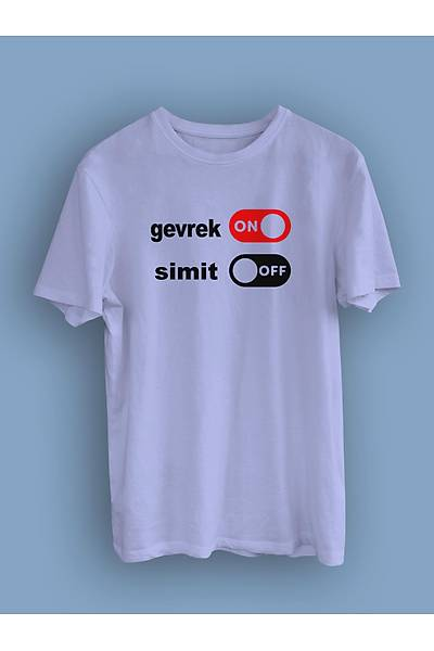Gevrek On Simit Off (Üniseks Tiþört)