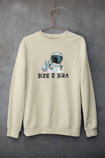 Bize 2 Bira (Üniseks Kapüþonsuz) biyace3