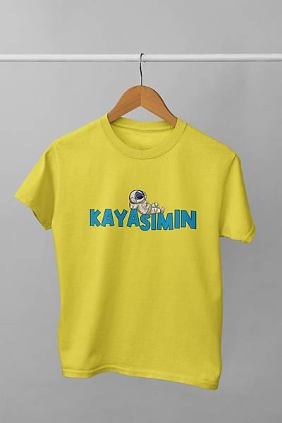 Kayasýmýn(Üniseks Çocuk Tiþört)