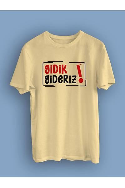 Gidik Gideriz (Üniseks Tiþört)