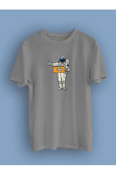 Otostopçu Astronot (Üniseks Tiþört)