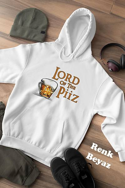 Lord Of Piiz (Üniseks Kapüþonlu)