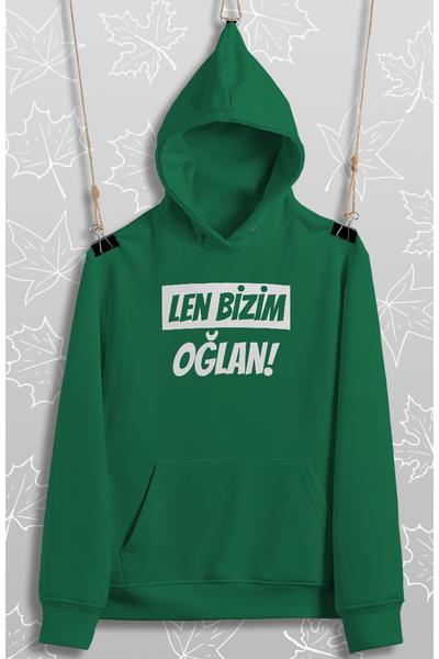 Len Bizim Oðlan(Üniseks Kapüþonlu)