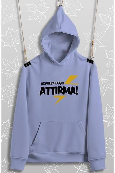 Asfalyalaamý Attýrma(Üniseks Kapüþonlu)