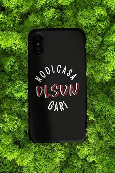 Noolcasa Olsun Gar Yuvarlak (Telefon Kýlýfý)