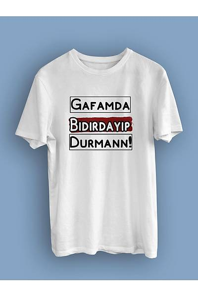 Gafamda Býdýrdayýp Durman  (Üniseks Tiþört)